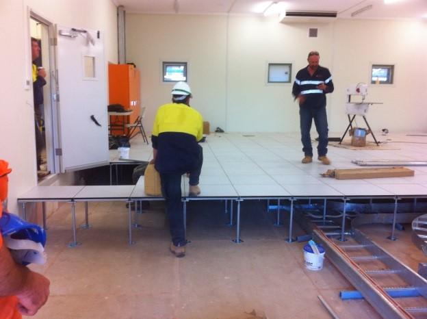 SINO Control rooms under construction
