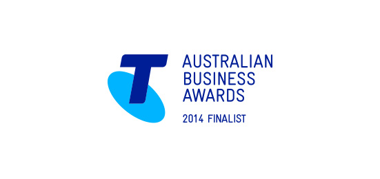 2014 Telstra business awards finalist